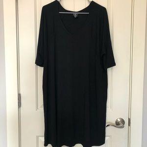 GUC XL Agnes & Dora tunic top in Black